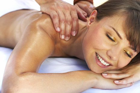 A relaxing massage is an enjoyable part of our Pamper packages.